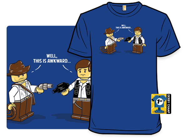 An Awkward Meeting T Shirt