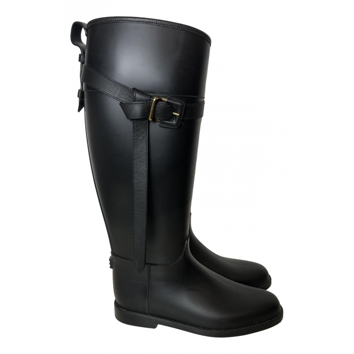 Burberry \N Black Rubber Boots for Women 40 EU