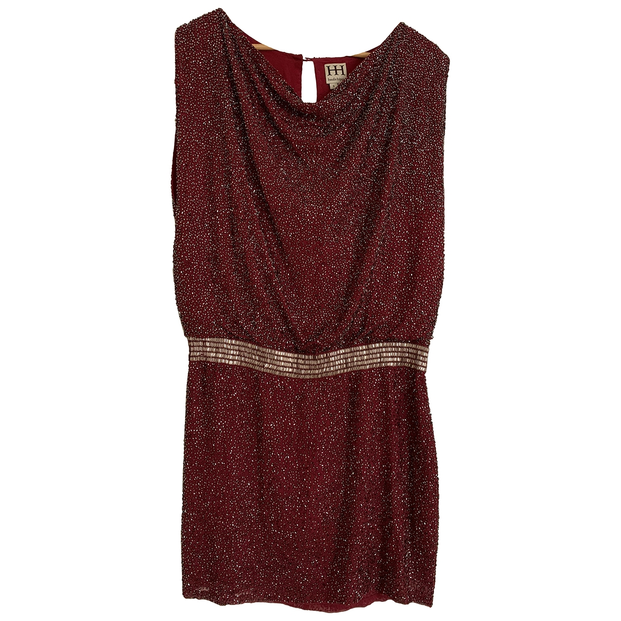 Haute Hippie \N Burgundy Silk dress for Women 36 FR