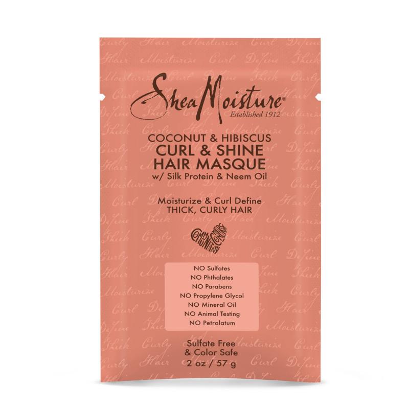 Coconut & Hibiscus Curl & Shine Masque Packette