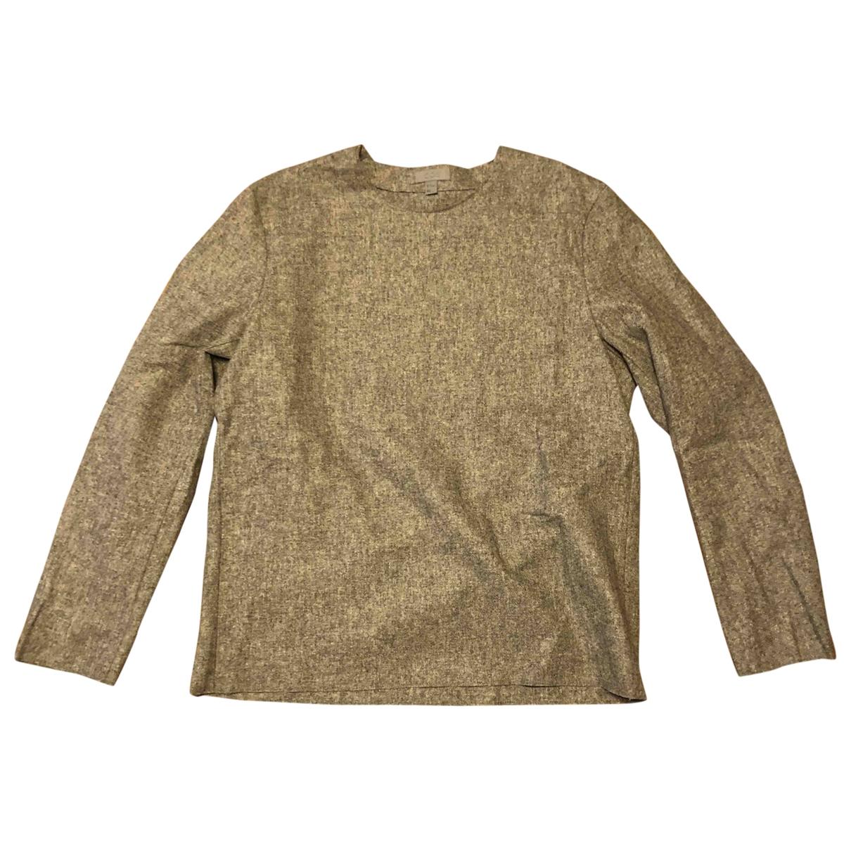 Cos \N Hemden in  Grau Wolle