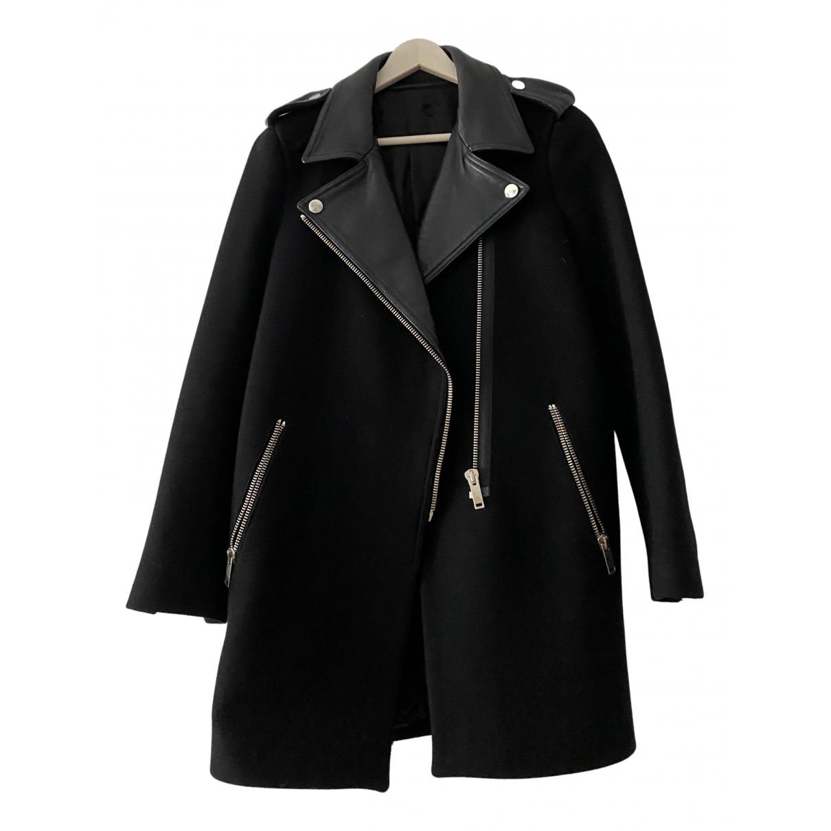 Zara N Black Cotton coat for Women S International