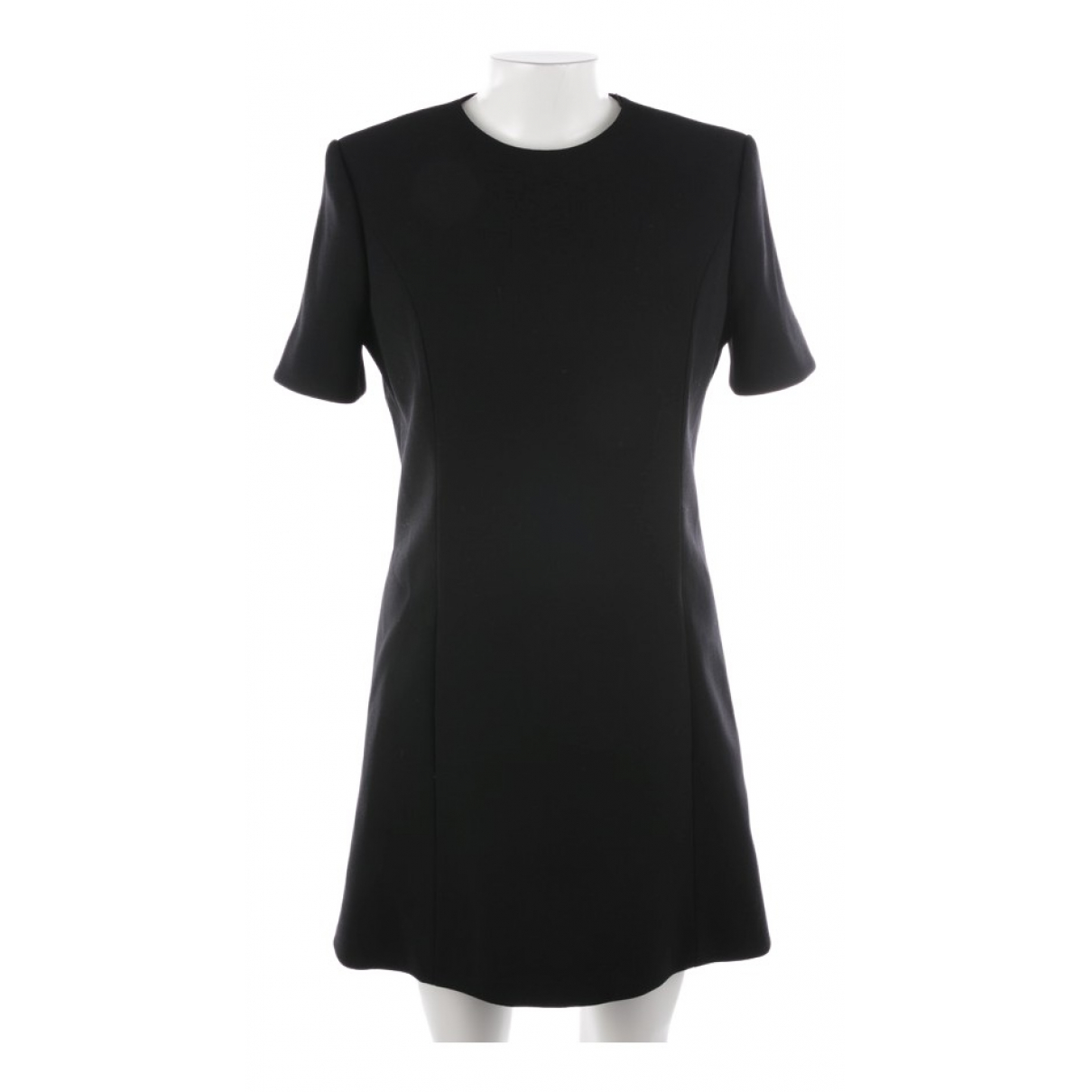 Saint Laurent \N Black Cotton dress for Women 34 FR