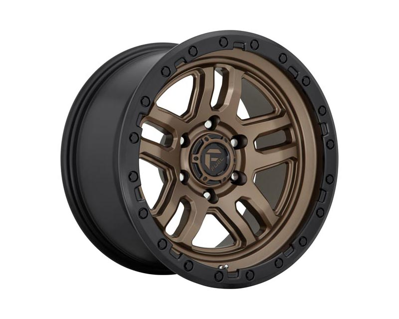 Fuel D702 Ammo Wheel 18x9 6X135 -12mm Matte Bronze Black Bead Ring