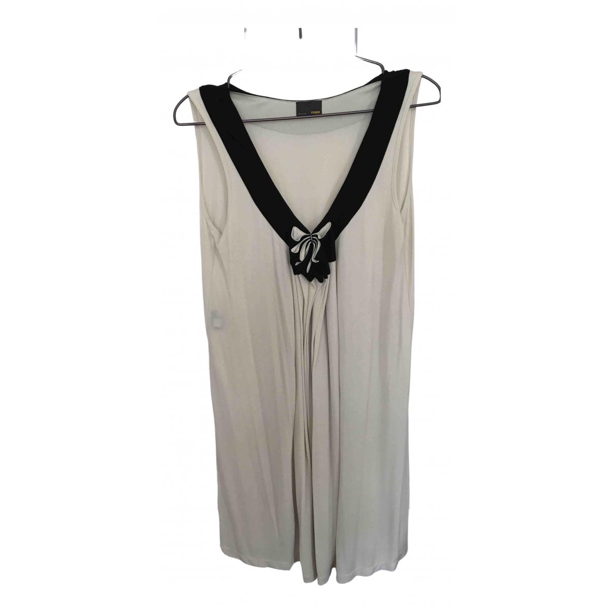 Fendi \N Beige dress for Women 42 IT