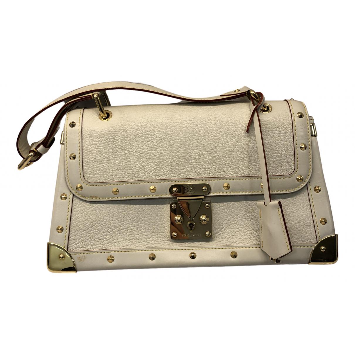 Louis Vuitton - Sac a main Le Talentueux pour femme en cuir - beige