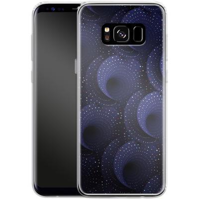 Samsung Galaxy S8 Silikon Handyhuelle - Spiral Pattern von Danny Ivan