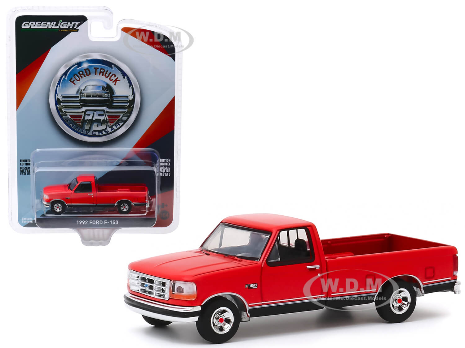 1992 Ford F-150 Pickup Truck Red