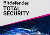 Bitdefender Total Security 2020 International Key (3 Years / 5 Devices)