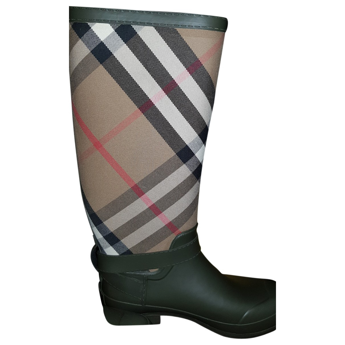 Burberry \N Black Rubber Boots for Women 41 EU