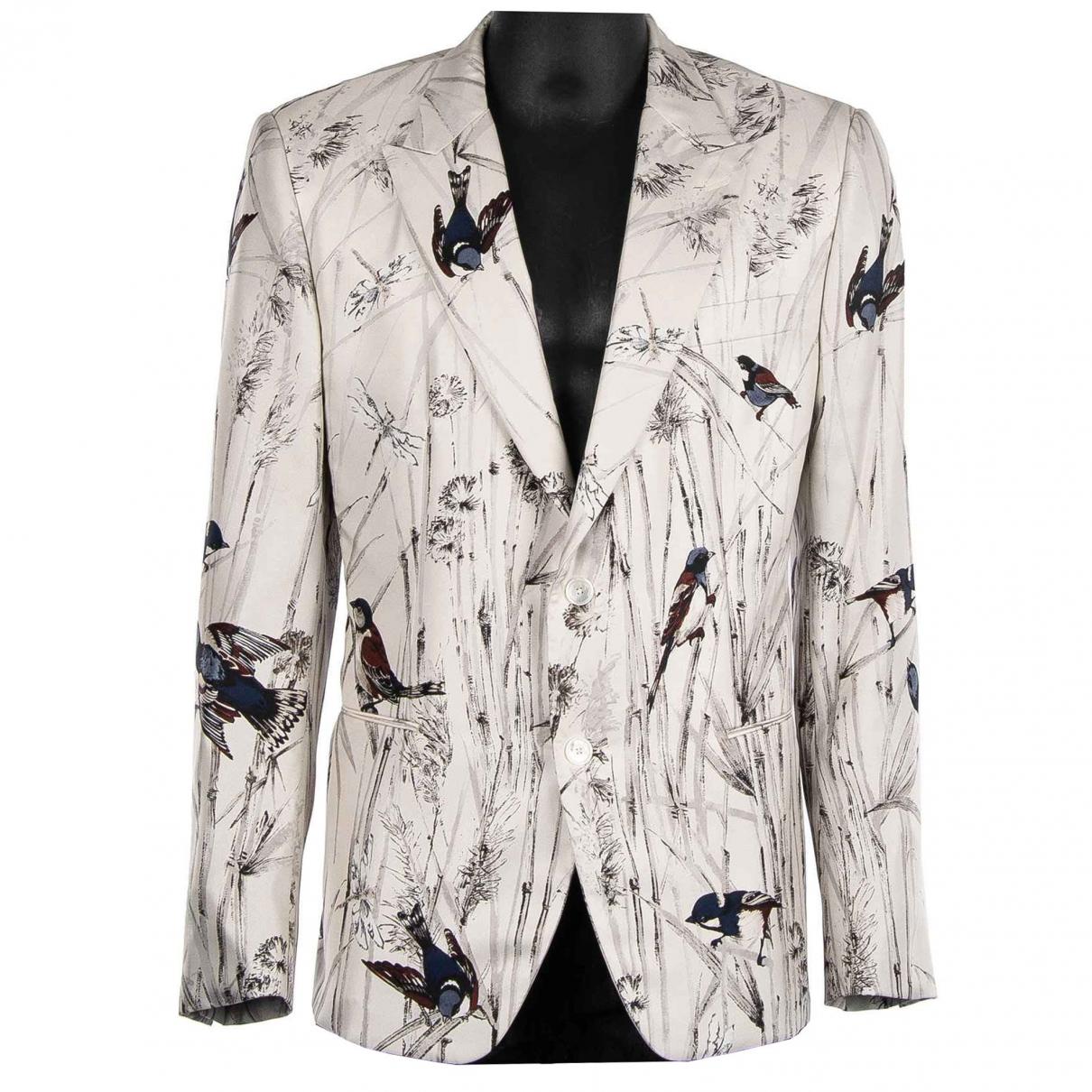 Dolce & Gabbana \N Jacke in  Weiss Seide