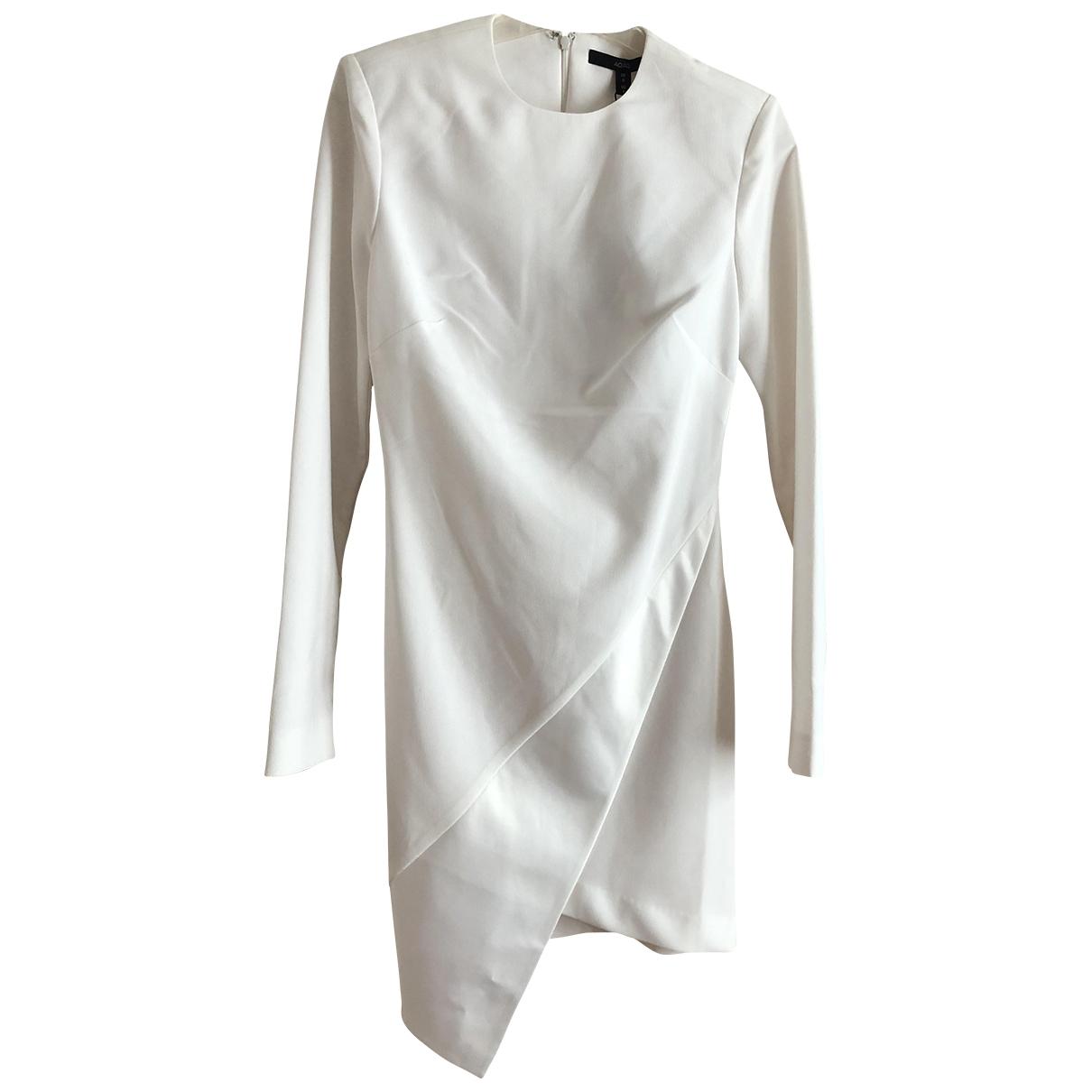 Aqaq \N Kleid in  Weiss Polyester
