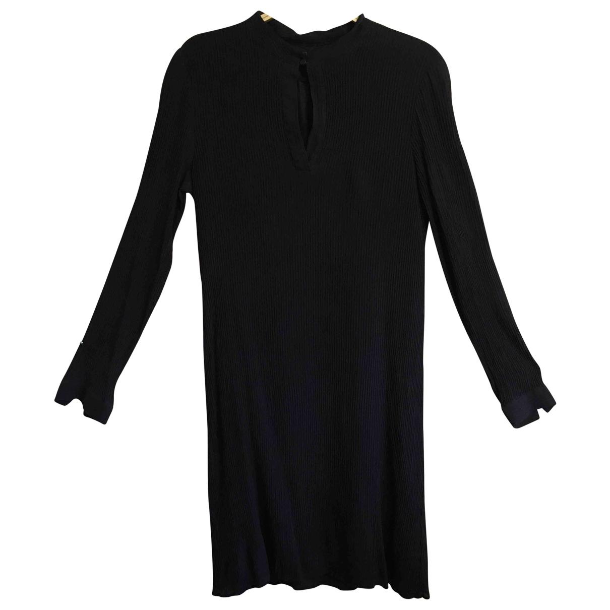 Apc \N Kleid in  Blau Seide