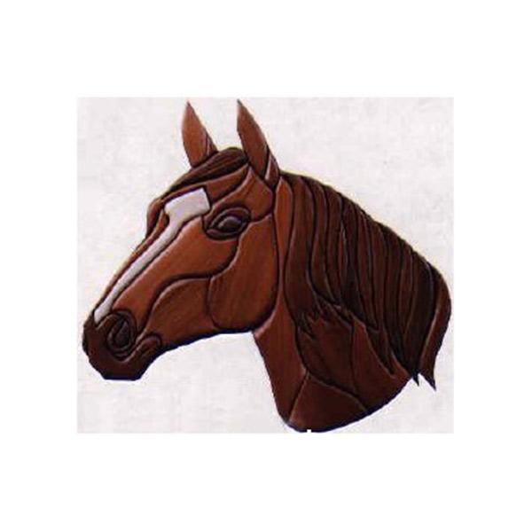 Horse Intarsia Pattern
