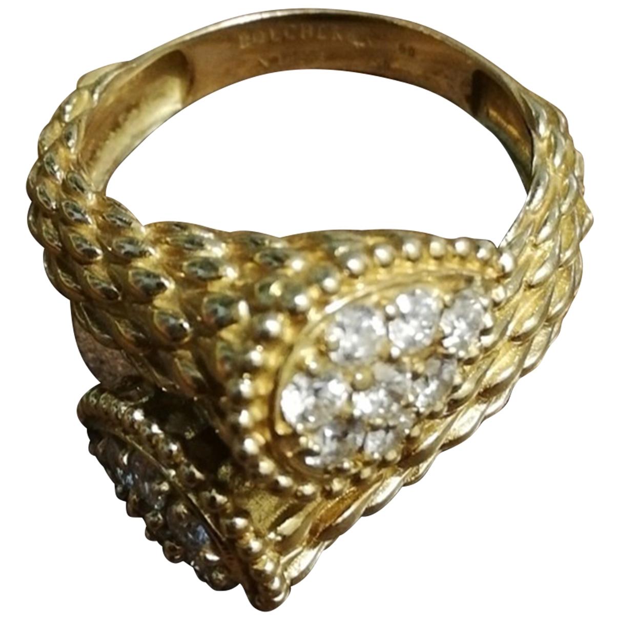 Boucheron Serpent Boheme Ring in  Gold Rosegold