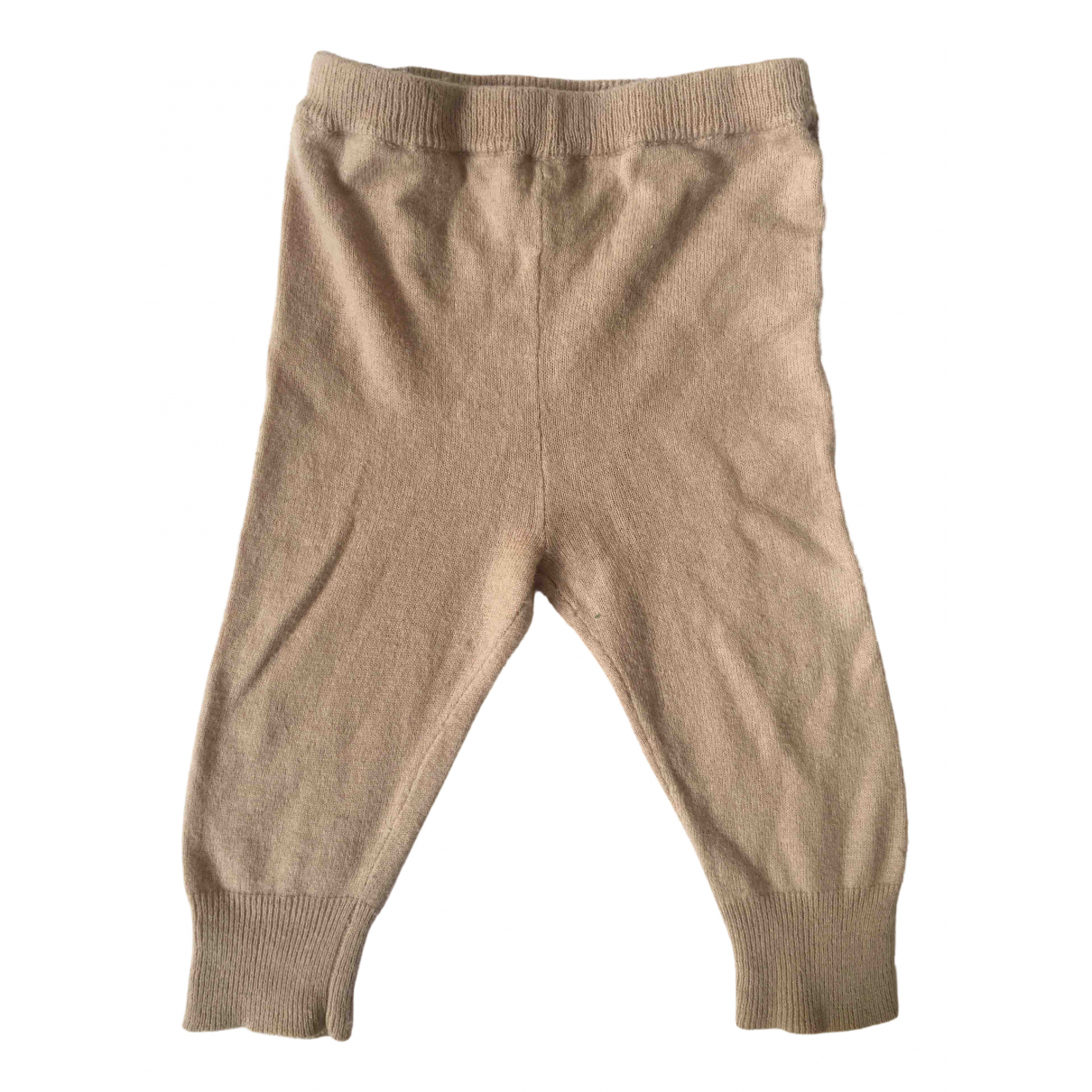 Caramel Baby & Child N Beige Cotton Trousers for Kids 6 months - until 26.5 inches UK