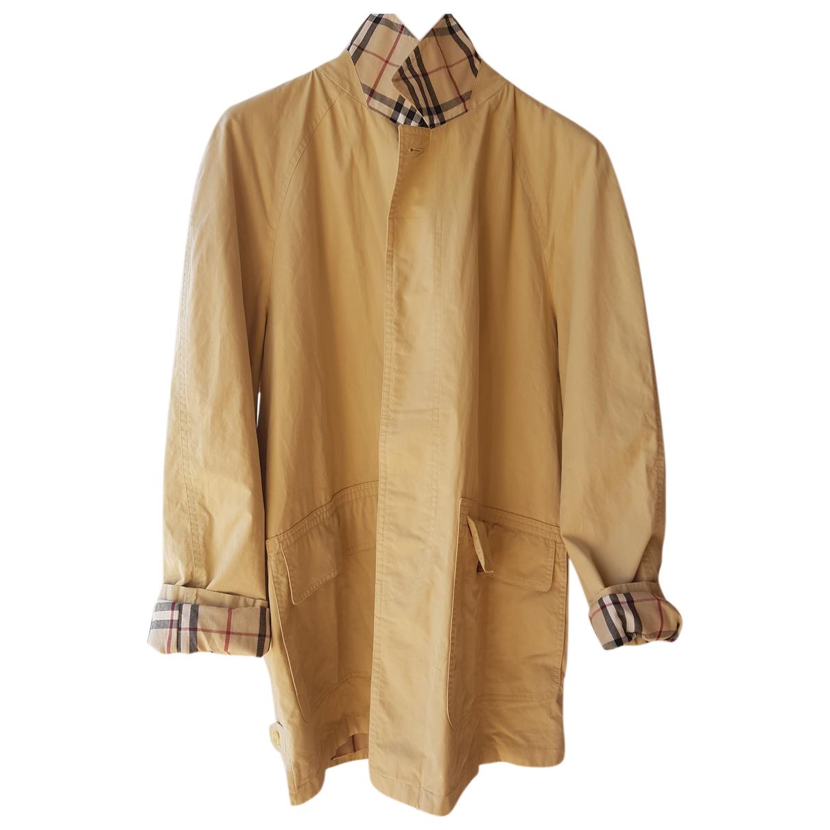 Burberry N Beige Cotton Trench coat for Women 18-20 UK