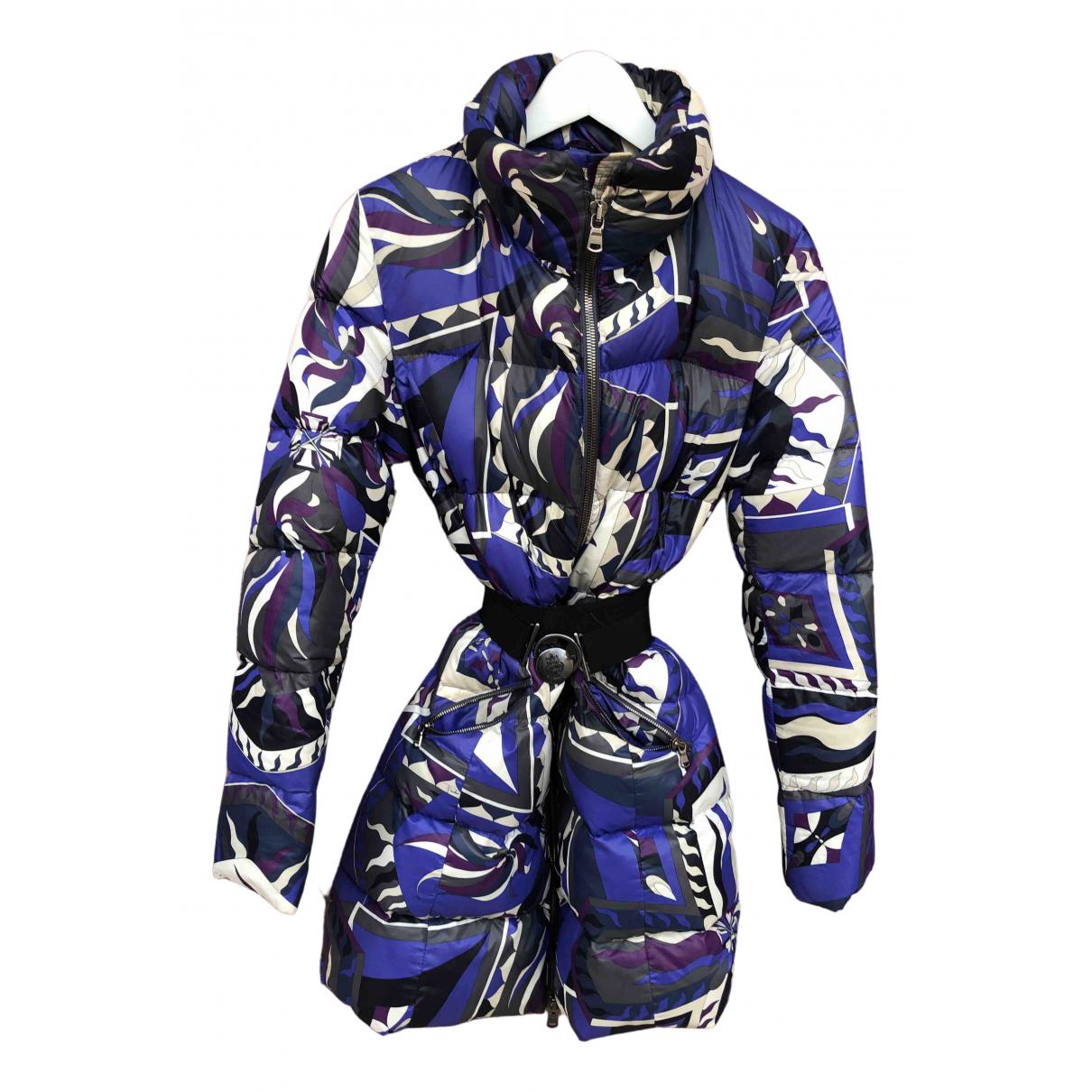 Emilio Pucci N Purple coat for Women 44 IT