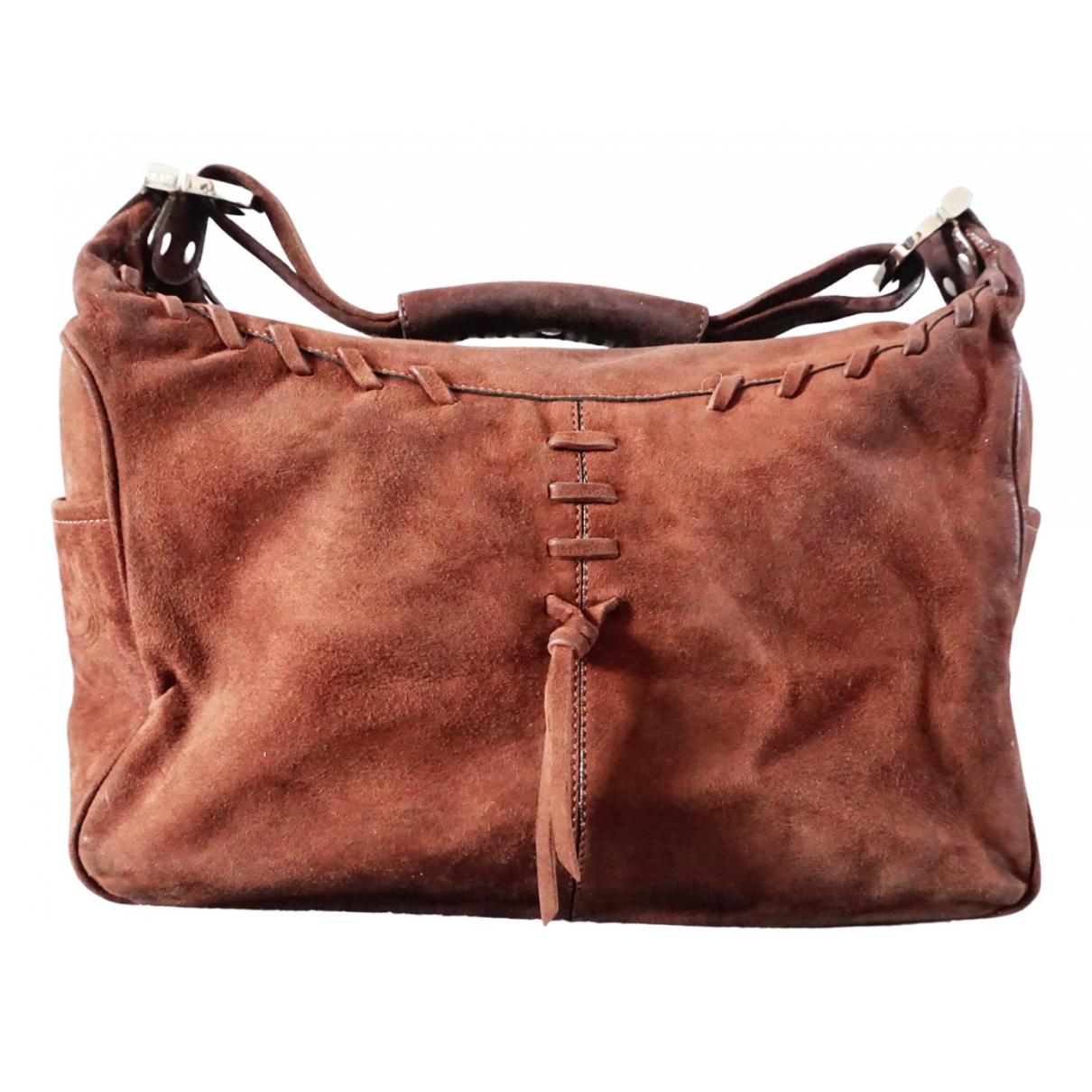 Tod's N Brown Suede handbag for Women N