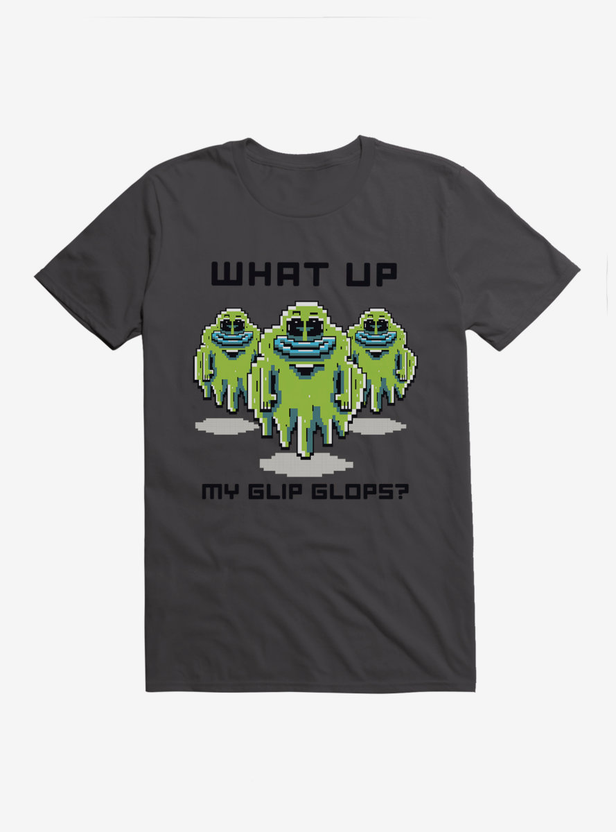Rick And Morty What Up Blip Blops? T-Shirt