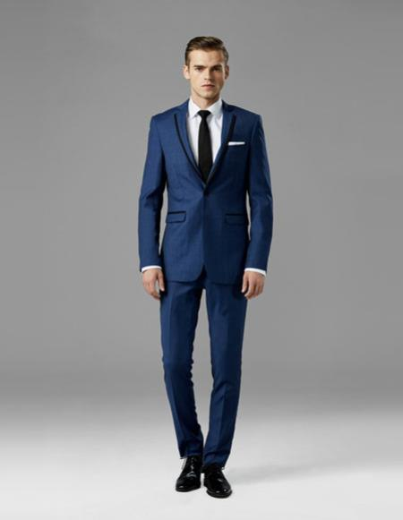 Mens navy best Suit buy one get one suits free Suit