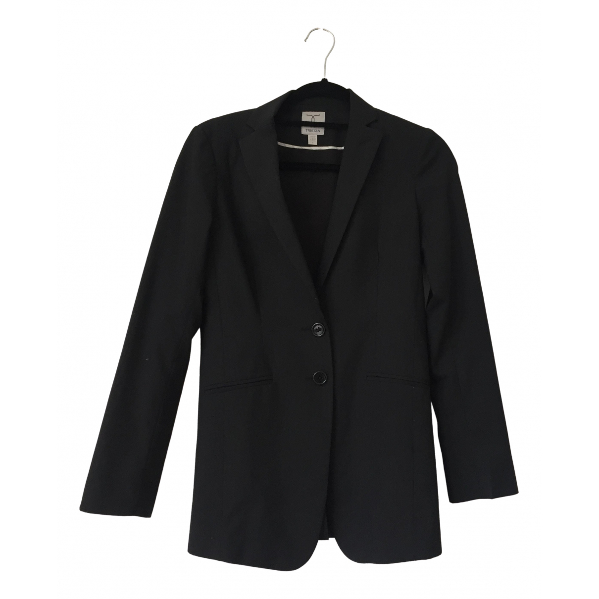 Non Signé / Unsigned \N Black jacket for Women 1 0-5