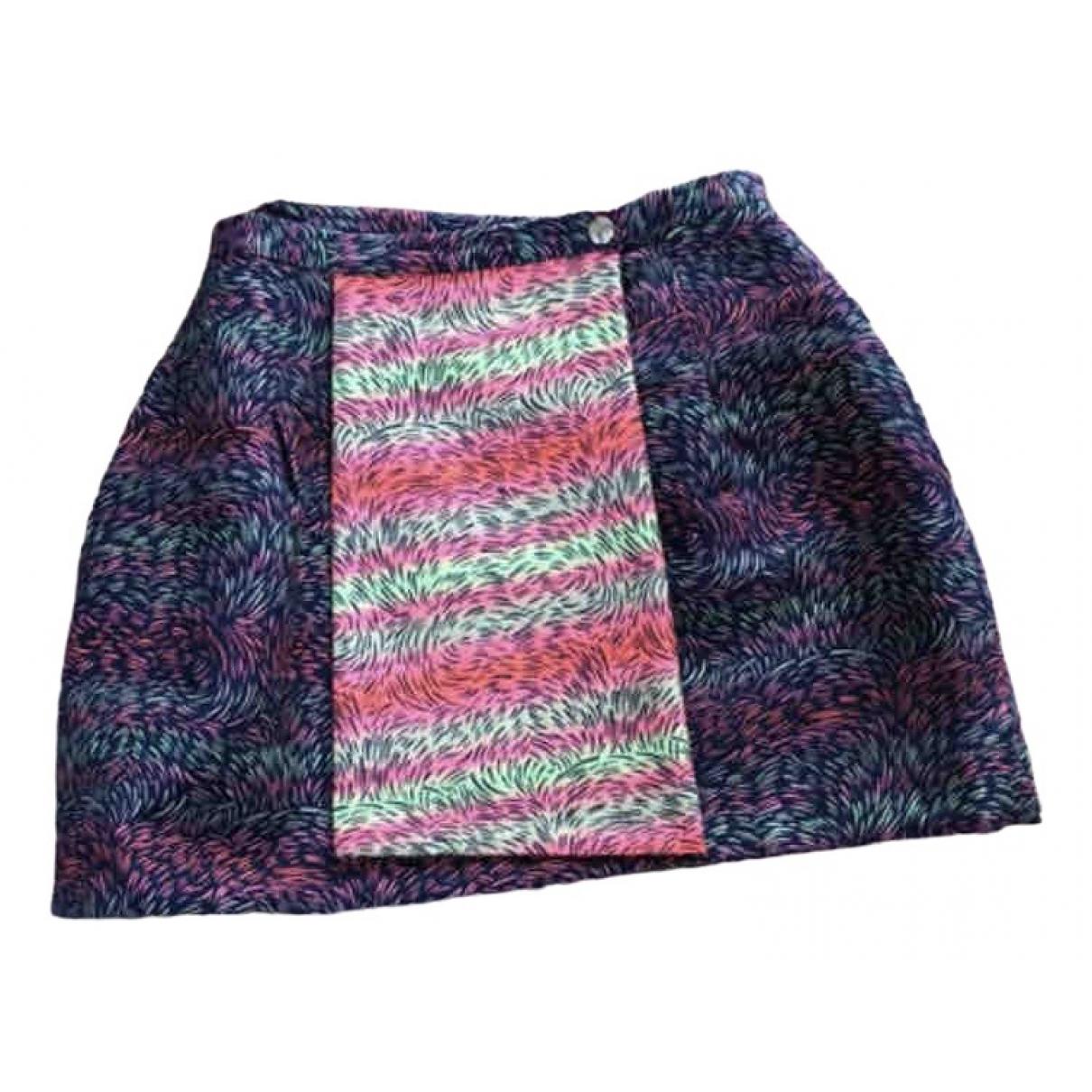 Kenzo \N Multicolour Cotton skirt for Women 38 FR
