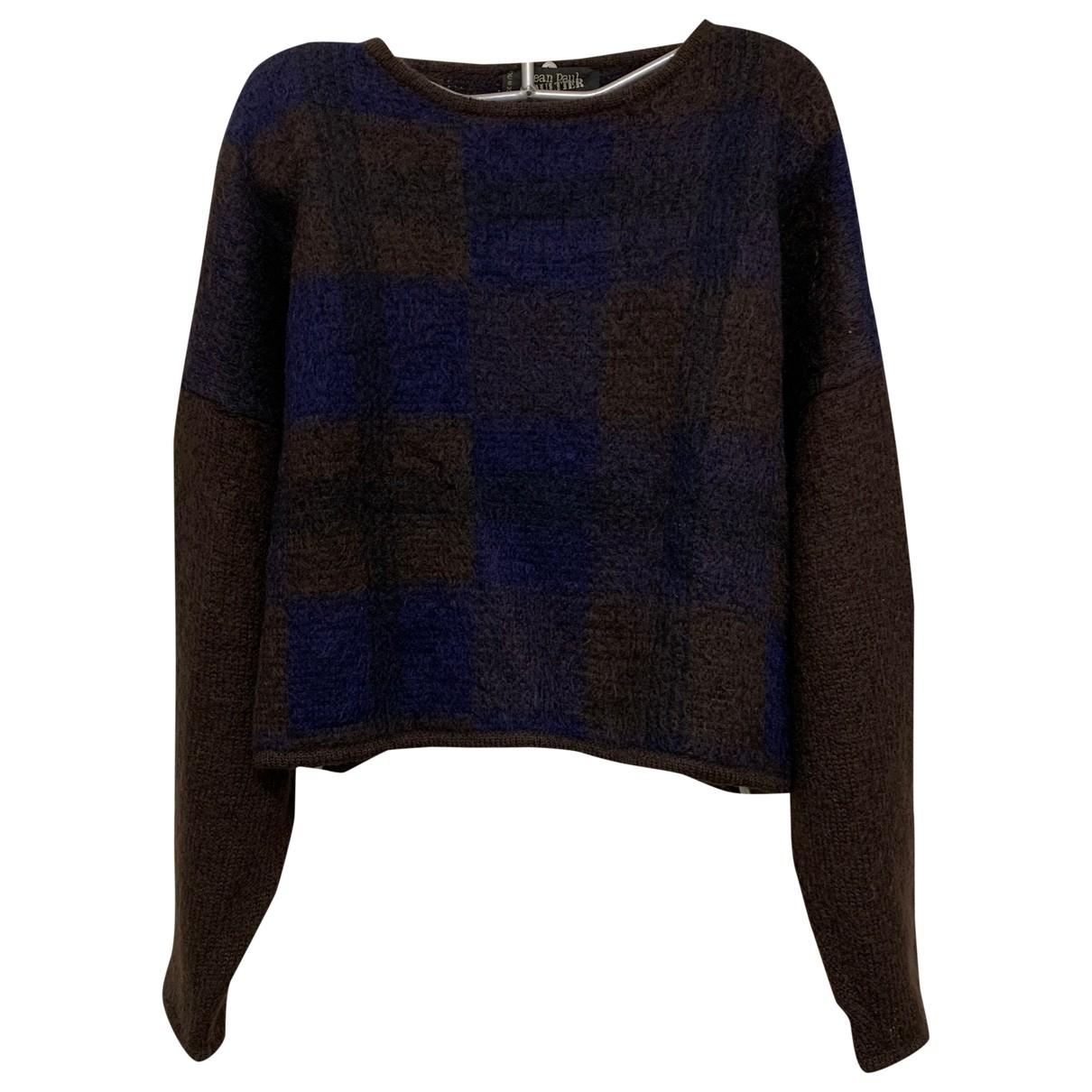 Jean Paul Gaultier - Pull   pour femme en laine - multicolore