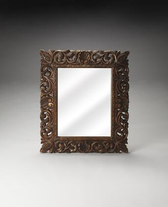 Ferdinand Collection 4217290 Wall Mirror with Traditional Style  Rectangular Shape and Mango Wood Solids in Artifacts