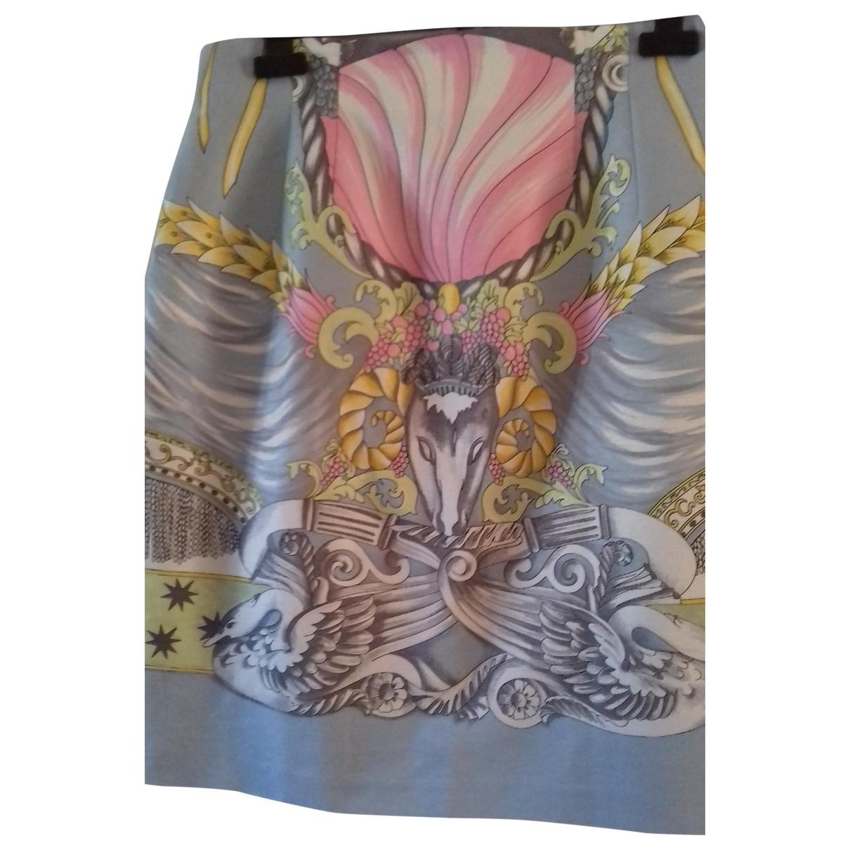 Laurel \N Blue Cotton skirt for Women 42 FR