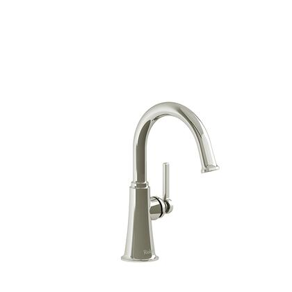 Momenti MMRDS00LPN-05 Single Hole Lavatory Faucet with L Lever Handle without Drain 0.5 GPM  in Polished
