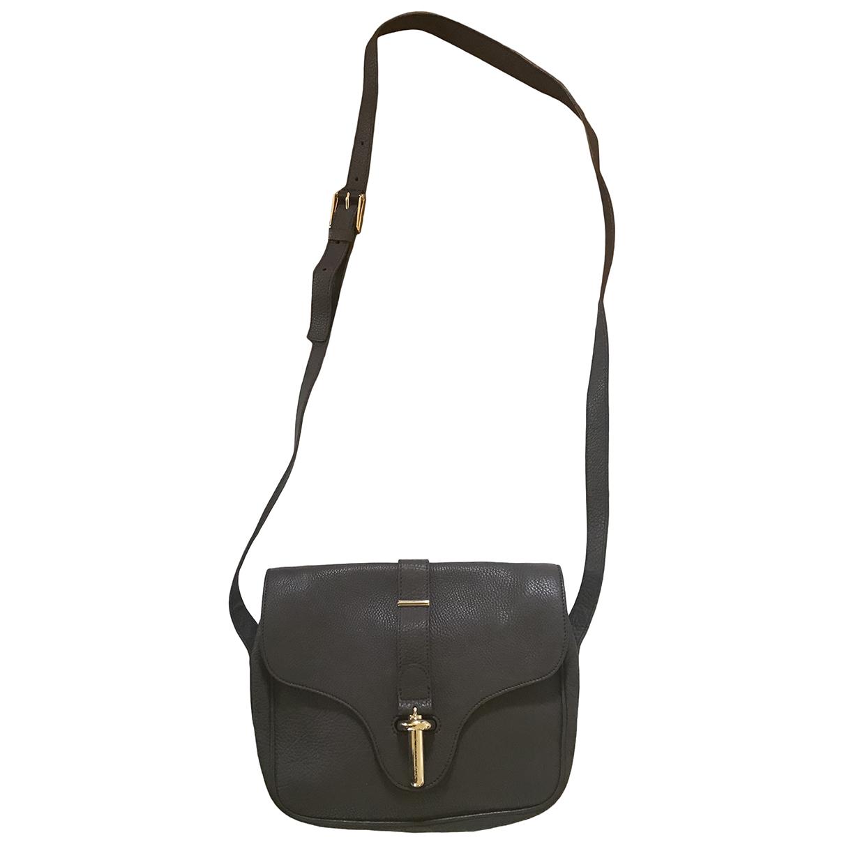 Balenciaga \N Grey Leather handbag for Women \N