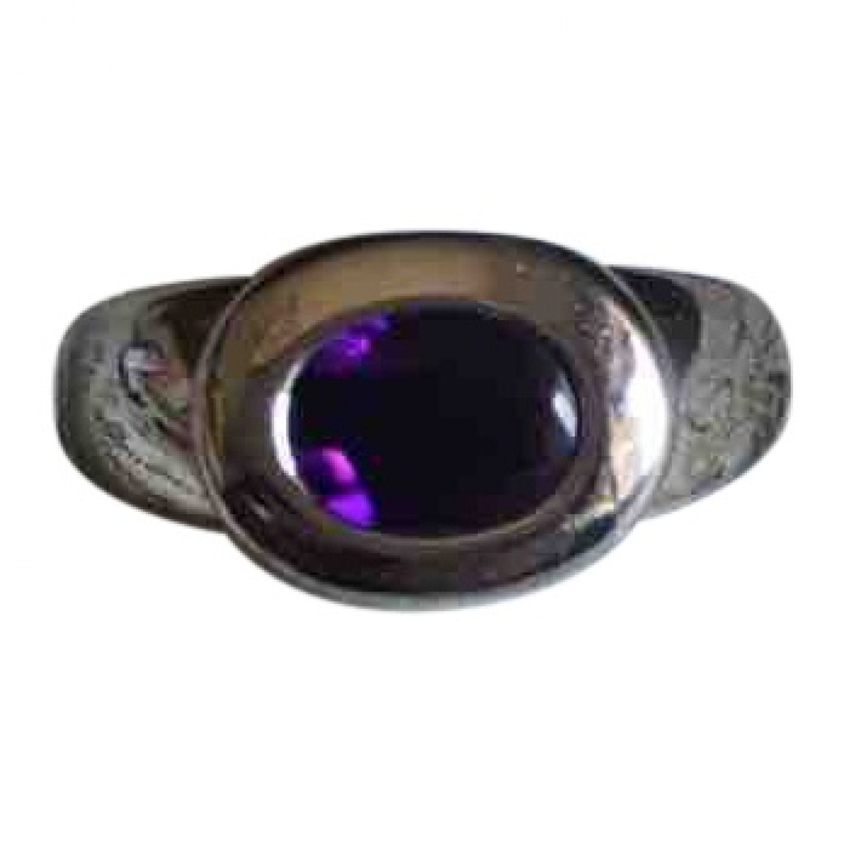 - Bague Amethyste pour femme en or blanc - violet