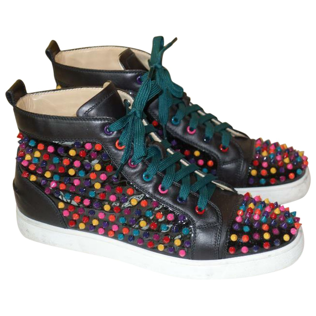 Christian Louboutin Louis Sneakers in  Bunt Leder