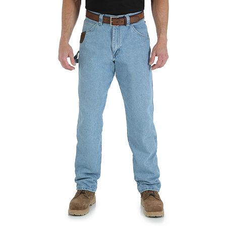 Wrangler/Riggs Workwear Carpenter Jeans, 33 32, Blue