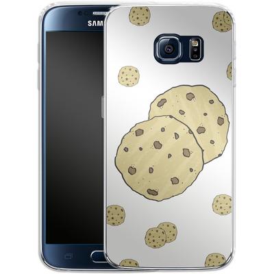 Samsung Galaxy S6 Silikon Handyhuelle - Cookies von caseable Designs
