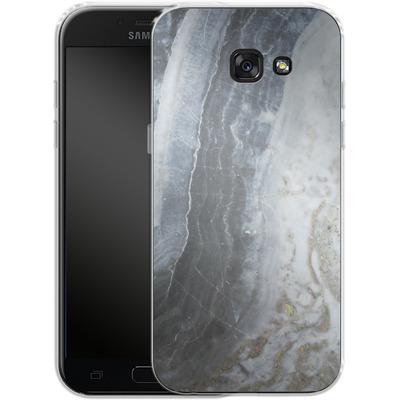Samsung Galaxy A5 (2017) Silikon Handyhuelle - Desaturated Marble von Emanuela Carratoni
