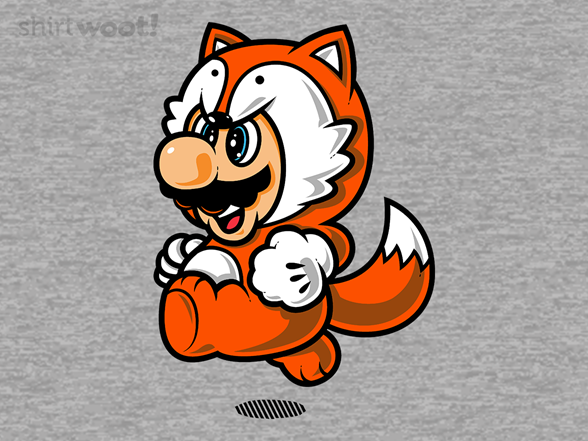 Super Fox Jump T Shirt