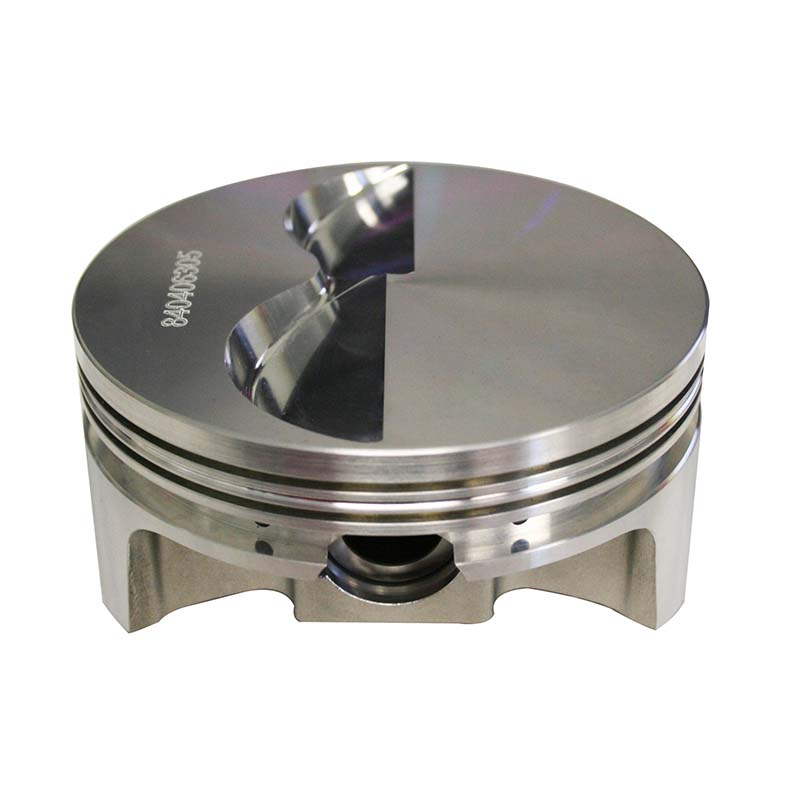 Pro Max Pistons; Chevy 2618 Forged 23 Degree Flat Top -5.0cc Howards Cams 840406305 840406305