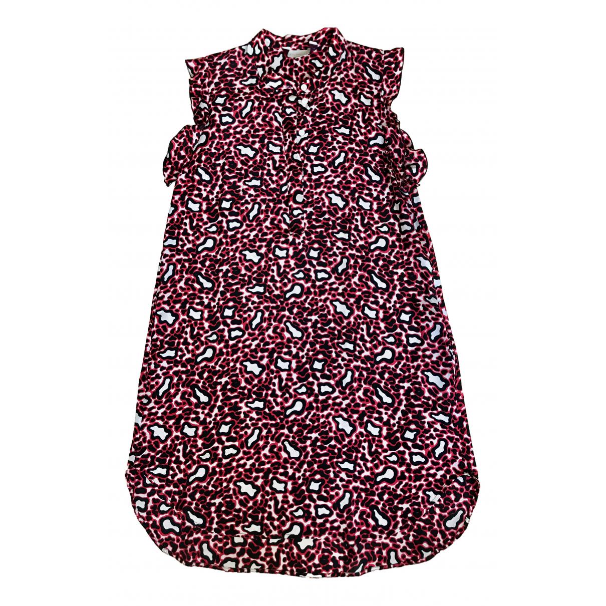 Stella Mccartney - Robe   pour femme en soie - rouge