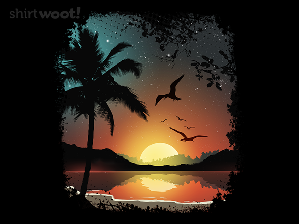 Sunset Sky T Shirt
