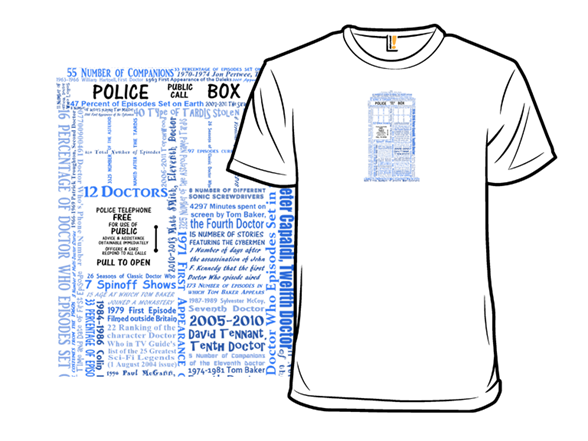 Who By The Numbers T Shirt
