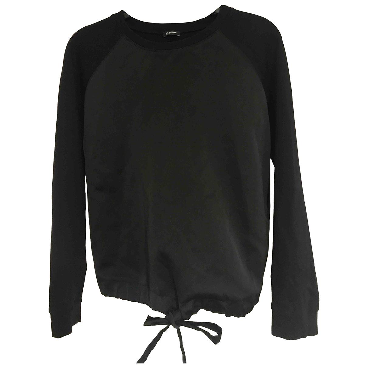 Jil Sander \N Pullover in  Schwarz Polyester