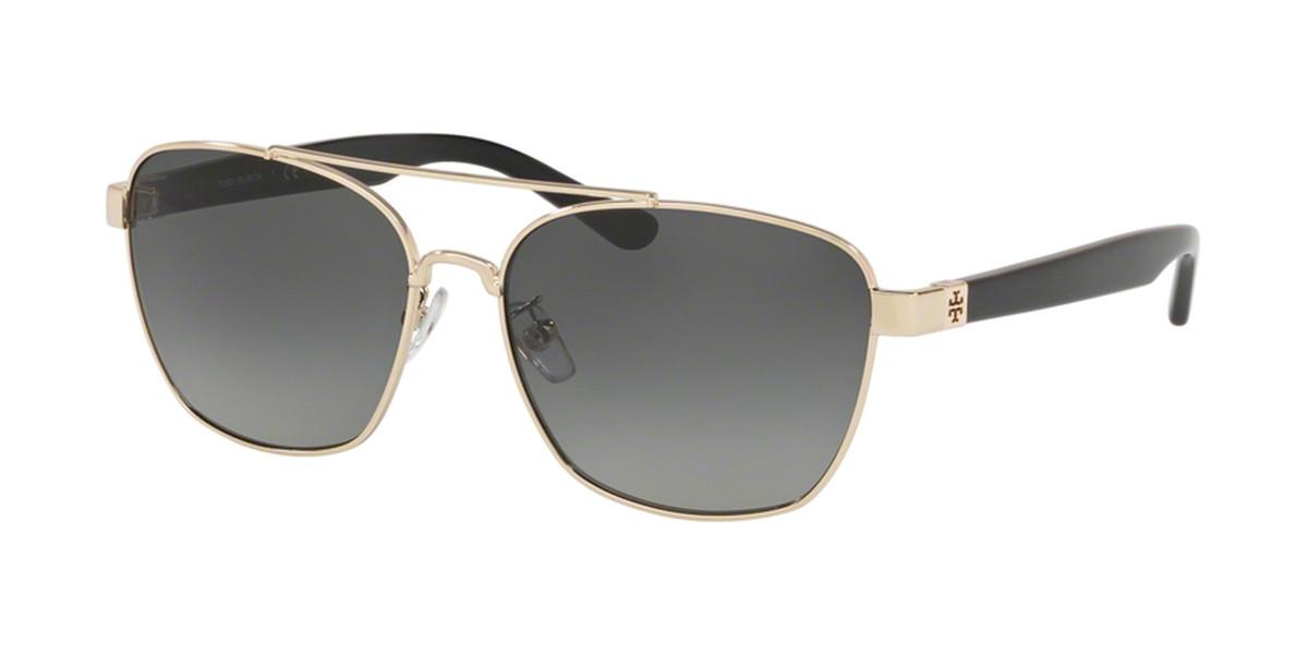 Tory Burch TY6069 327111 Women's Sunglasses Gold Size 57