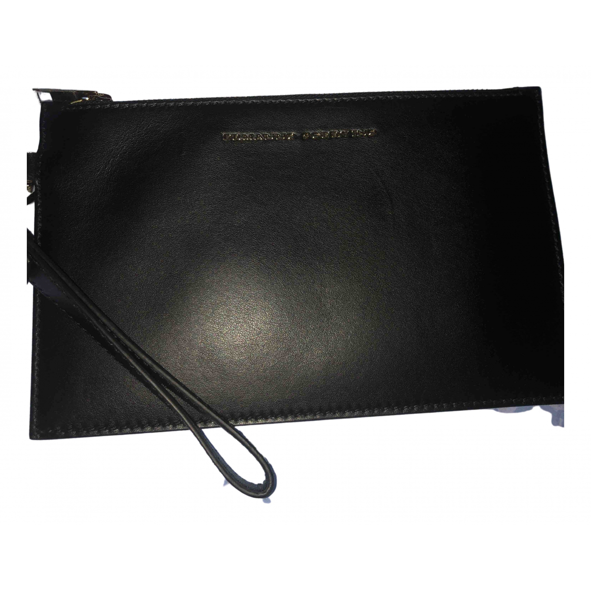 Ermanno Scervino \N Kleinlederwaren in  Schwarz Leder
