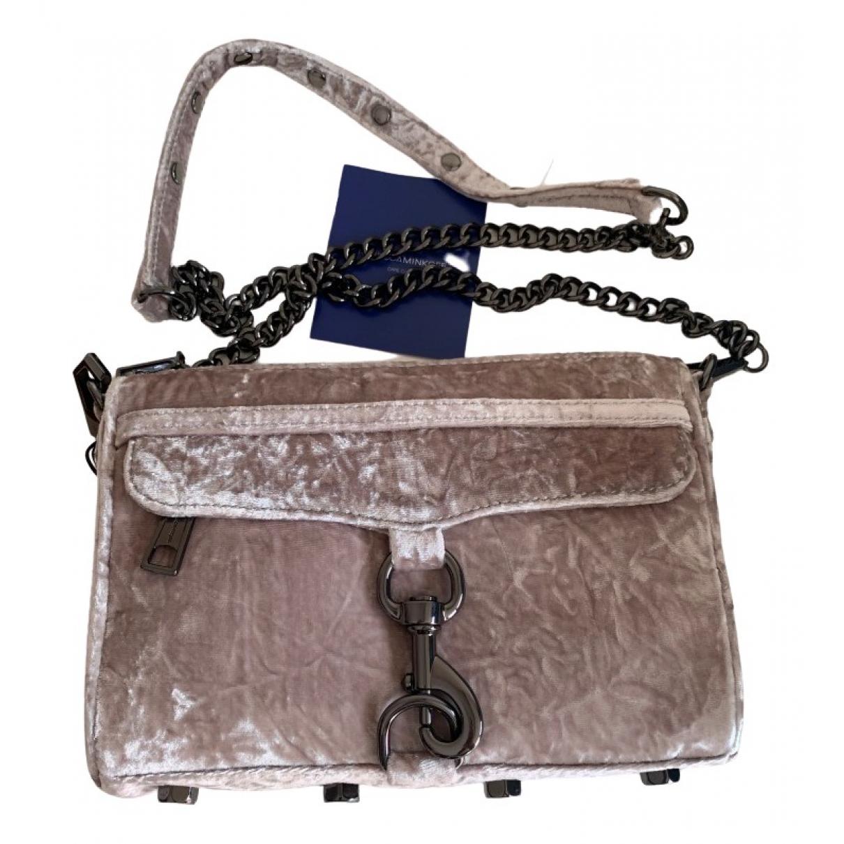 Rebecca Minkoff \N Handtasche in  Beige Samt