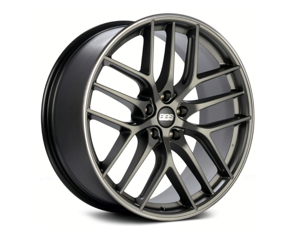 BBS CC-R Wheel 19x9.5 5x120 40mm Platinum | Polished Rim