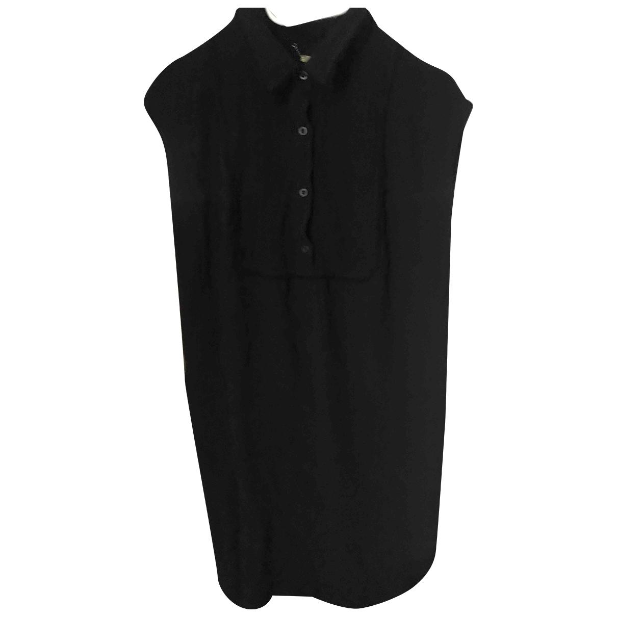 Bel Air \N Kleid in  Schwarz Viskose