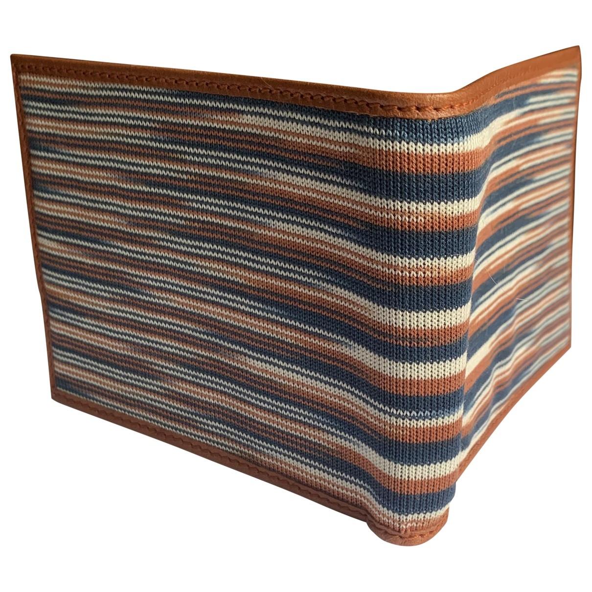 M Missoni - Petite maroquinerie   pour homme en laine - marron