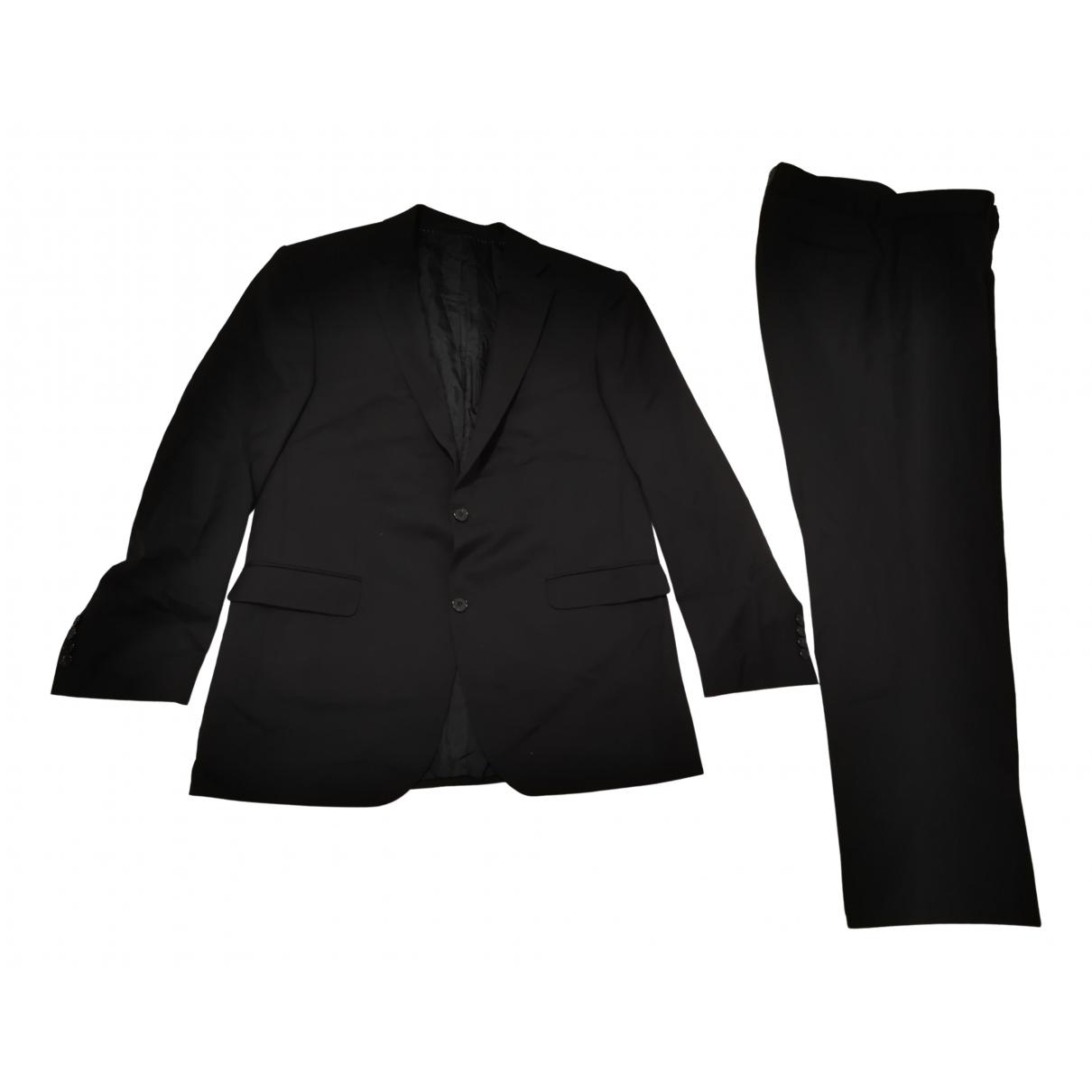 Cerruti - Costumes   pour homme en laine - noir